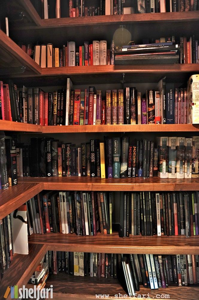 Take a Peek Inside Neil Gaiman's Library