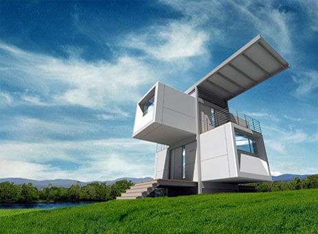 Zero House From the Future is Totally Green, Off-Grid
