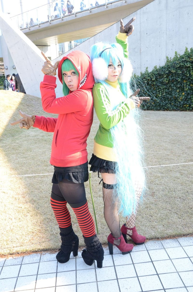 Salute Comiket's Cosplay Insanity: Day One