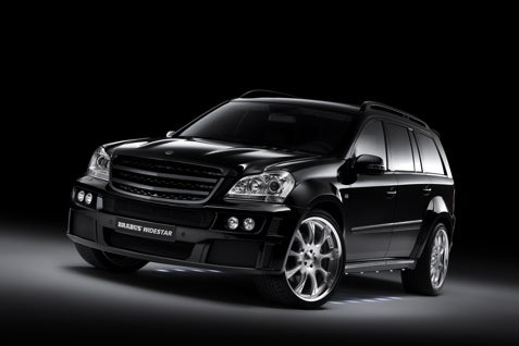 Brabus Gives the Mercedes GL a Wide Stance
