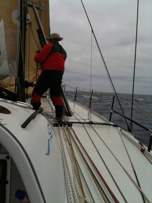 Pegasus Open 50 Raceboat Log: Day Two, Heading South and Kulani the Barometer