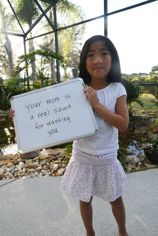 Mom Posts Mean Things People Have Said to Her Adopted Daughters