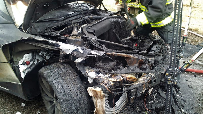 Feds Close Inquiry Into Tesla Fires Thanks To The Power Of Titanium