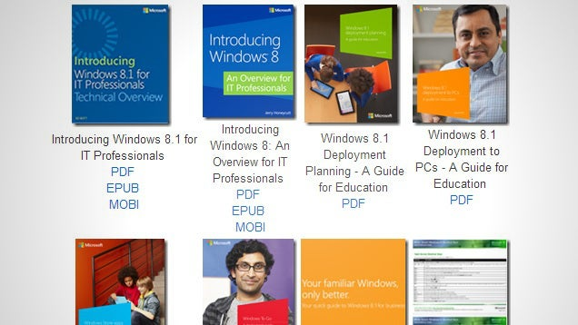 Download a Treasure Trove of 130 Free Ebooks from Microsoft