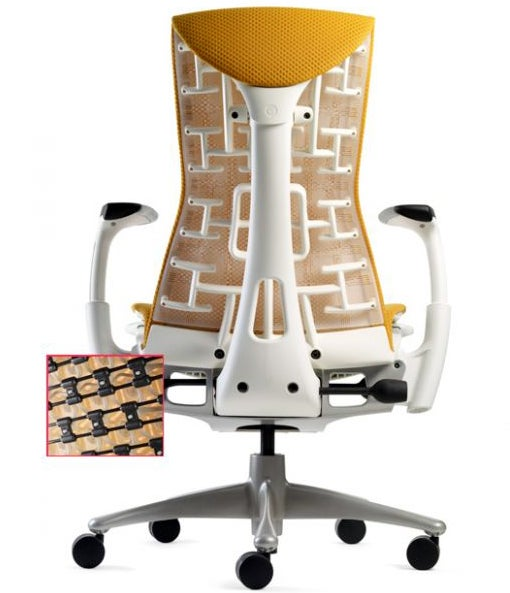Lab-Designed Chair that Reconfigures Itself to Fit Your Spine