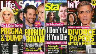 This Week In Tabloids: Kim Doesn't Give a Single Fuck If Rob Dies