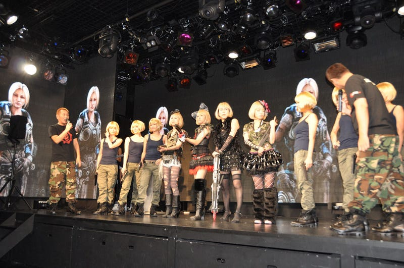Japan Launched Gears of War 3 with Idols You Can... *Ahem*