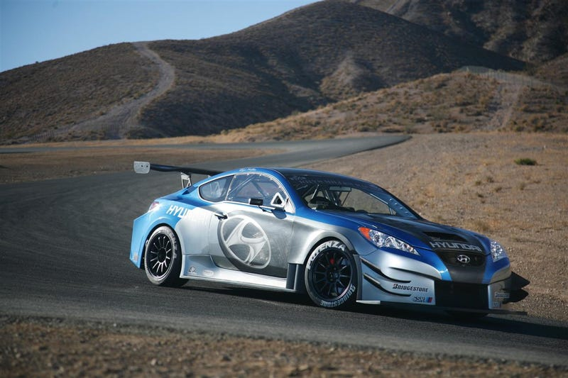 Rhys Millen Racing Hyundai Genesis Coupe Unveiled At SEMA
