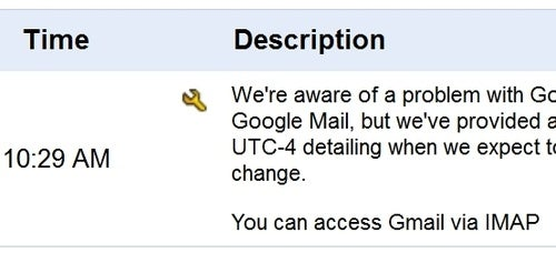 Gmail Slow or Down for Some, IMAP Still Working