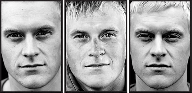 What Soldiers Look Like Before, During and After War