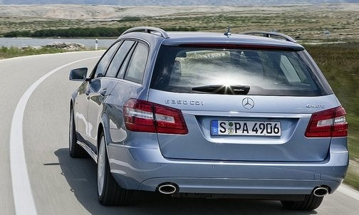 2010 Mercedes E-Class Estate Debuts Ahead Of Frankfurt