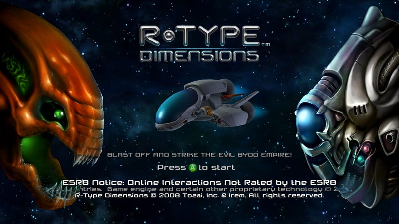 R-Type Dimensions Screens A Force To Be Reckoned With
