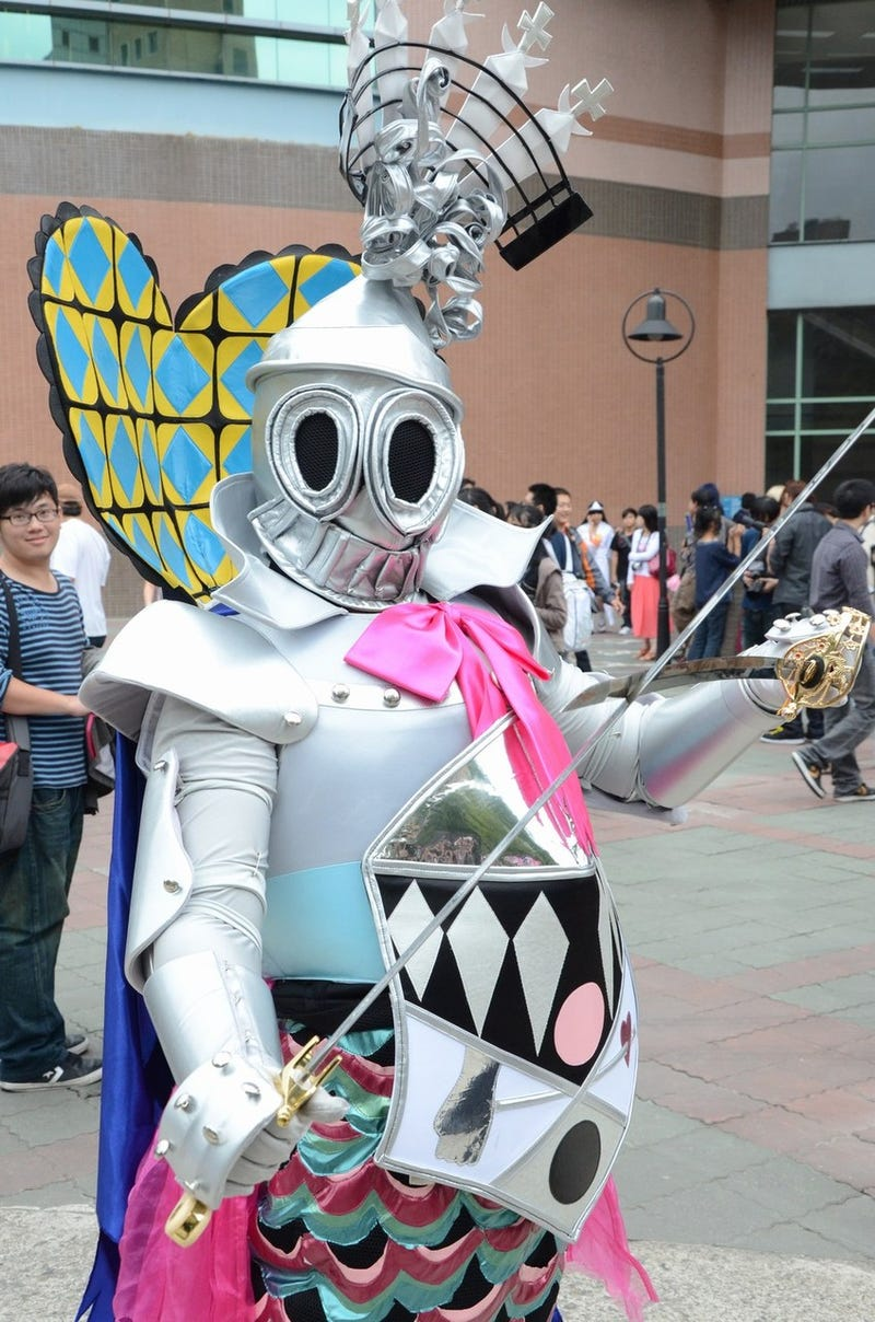 Elite Taiwan University Overrun by Cosplayers in Skimpy Costumes