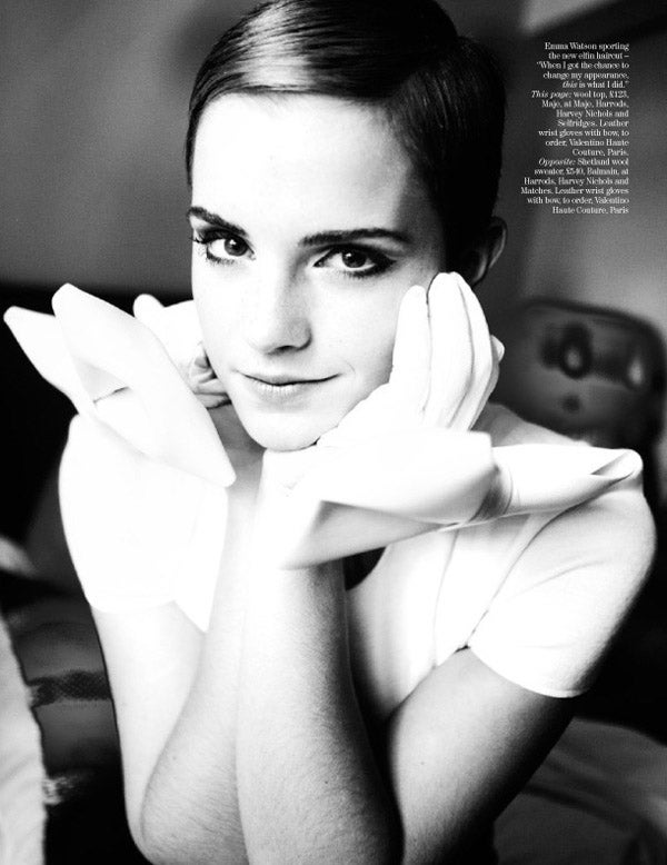 Emma Watson And Her Charming Haircut Break Ladymag Mold