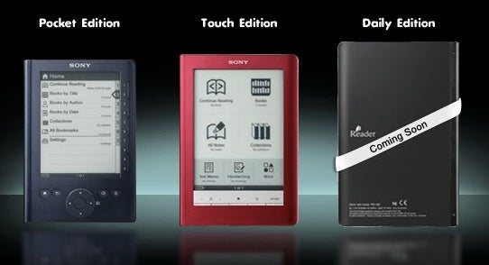 Sony Reader Daily Edition Kindle Fighter Coming Like, Now