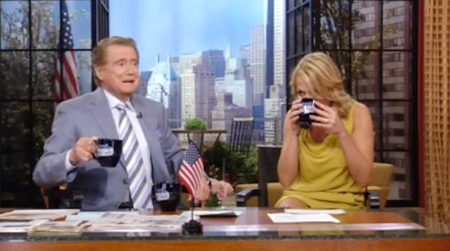 ESPN Book Gets Snubbed On Regis Show; Annoyed Co-Author Blames Michelle Beadle