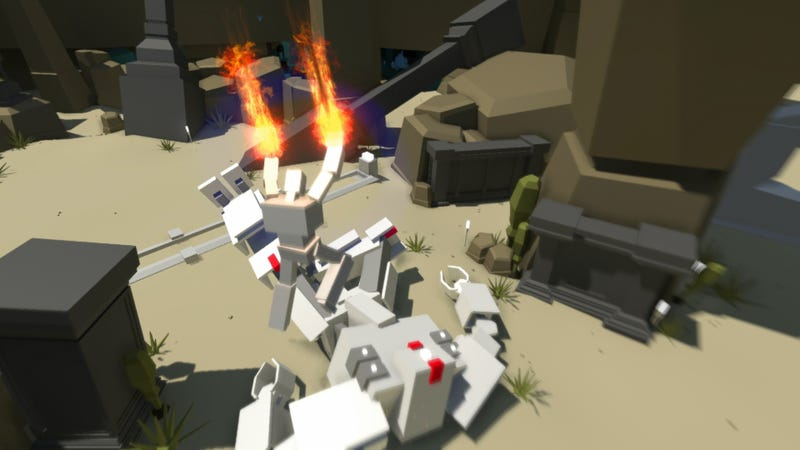 Atari Rescued This Cool Minimalist Shooter From A Collapsing TimeGate