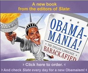'Slate' Has a New O-book-a!! (LOL)