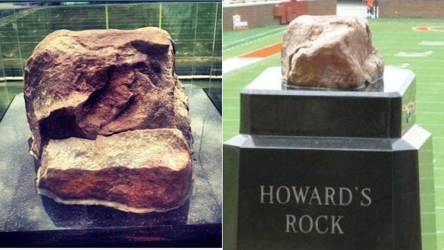 Somebody Broke Off A Huge Piece Of Clemson's Special Rock