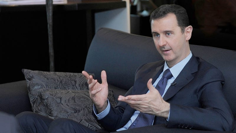Syrian President Chats With Charlie Rose, Denies Everything