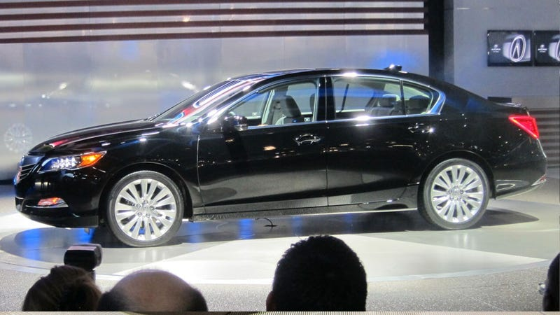 Acura RLX: This Thing Has Sixteen Freaking Headlights
