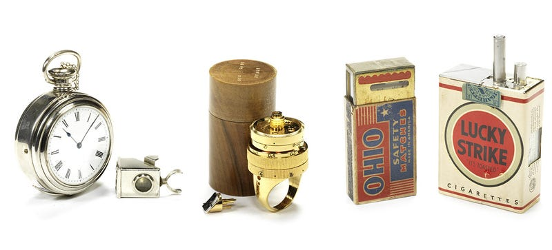 14Exquisite Clandestine Cameras From The Golden Age of Espionage