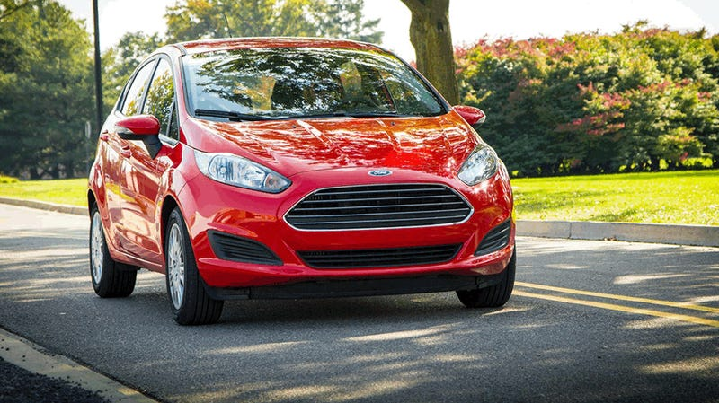 The 2014 Ford Fiesta Gets 45 MPG Highway And 123 Horsepower