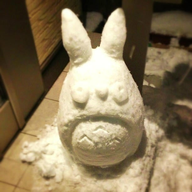 Snow Dicks and Cute Characters: Winter Hijinks Cover Tokyo.
