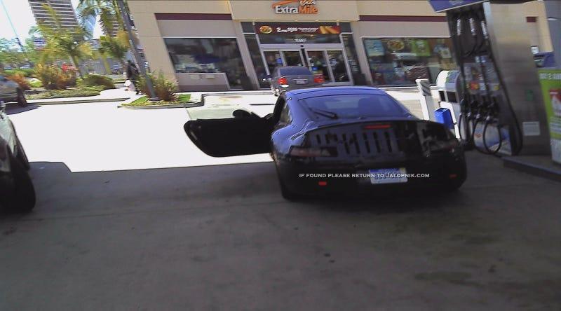 Did Porsche get caught testing a hybrid 911?