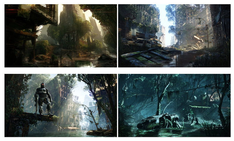 Crysis 3 Screens a New York City in Dire Need of a Landscaper