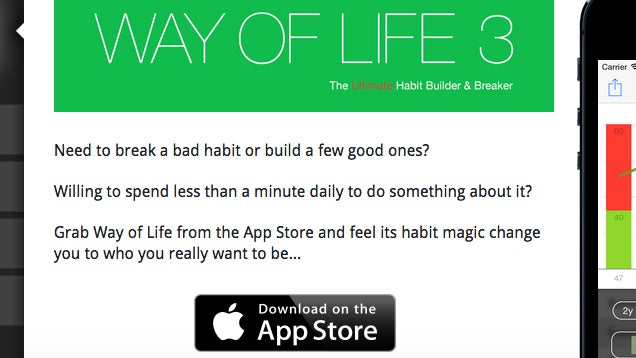 Way of Life Tracks Any Goal for You With Tons of Charts and Graphs