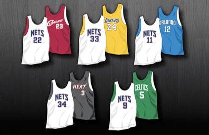 Nets Try To Trick Fans Into Wearing Nets Gear