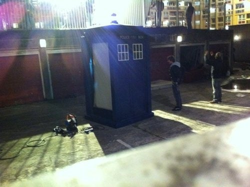 Doctor Who Set Photo Gallery