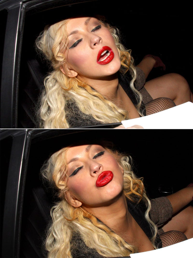 Christina Aguilera Got Drunk Last Night, and Other Halloween Frights