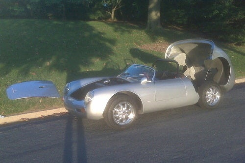 For $26,000, Could This Spyder Share Your Tuffet?