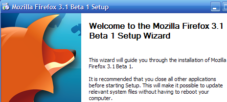 Firefox 3.1 Beta 1 Now Available for Download, First Look