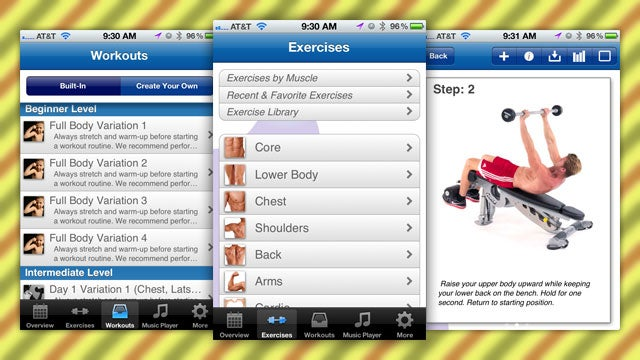 Fitness Buddy Is a Comprehensive Exercise Planner, Tracker, and Instructor for Your Smartphone