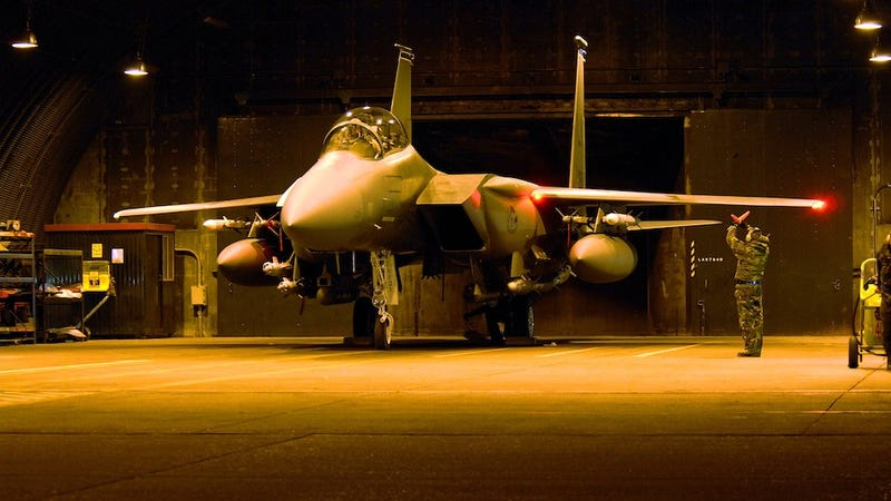 American F-15 Crashes Over Libya