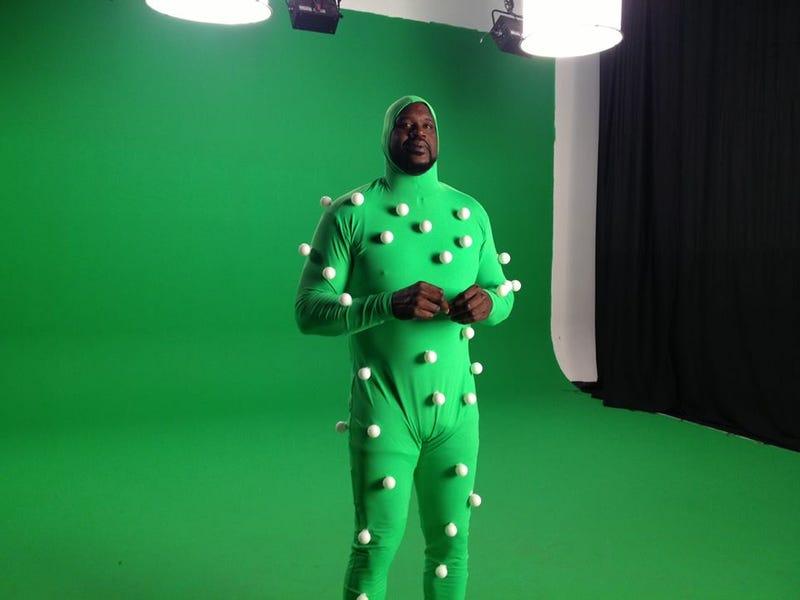 Shaq In World's Largest Motion Capture Suit