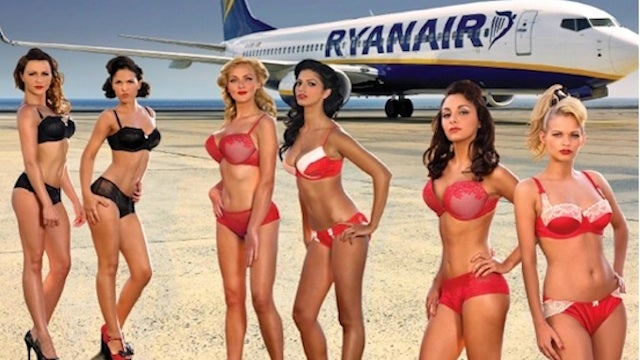 Relatively Inoffensive Ryanair Ads Banned for Being Offensive