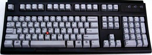 EudoraPro Keyboard, Vintage Clicky-Clacky