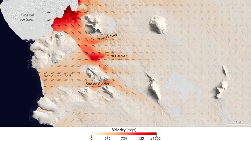 The West Antarctic Ice Sheet Is Wasting Away Fast