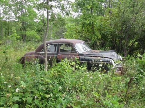Wisconsin Rust Trip Redux: '50 Chevy Still In The Woods