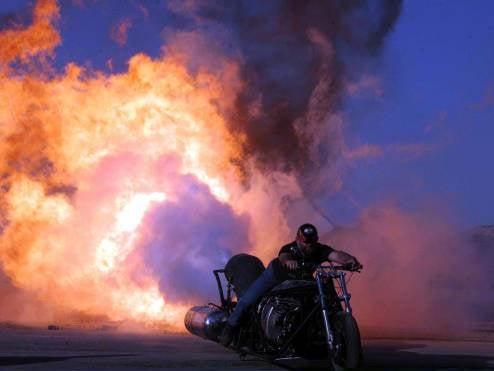 3,800 HP Jet Bike is One Dangerous Way to Travel