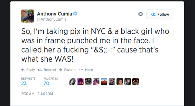 """SiriusXM Host Claims """"Cuntrag"""" Assaulted Him in Racist Twitter Rant"""