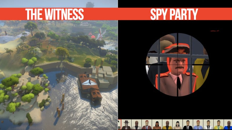 We've Got Jonathan Blow (The Witness, Braid) and Chris Hecker (Spy Party) Here To Answer Your Best Questions