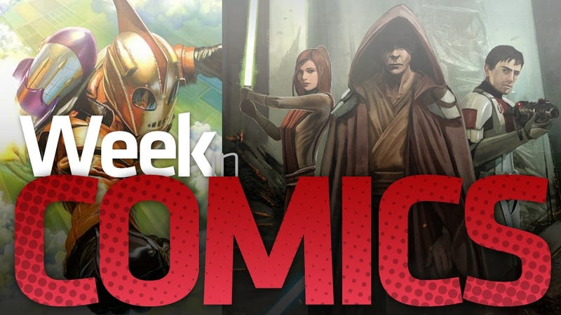 The Old Republic, Silver the Hedgehog and a Surprisingly Interesting Rocketeer Revival