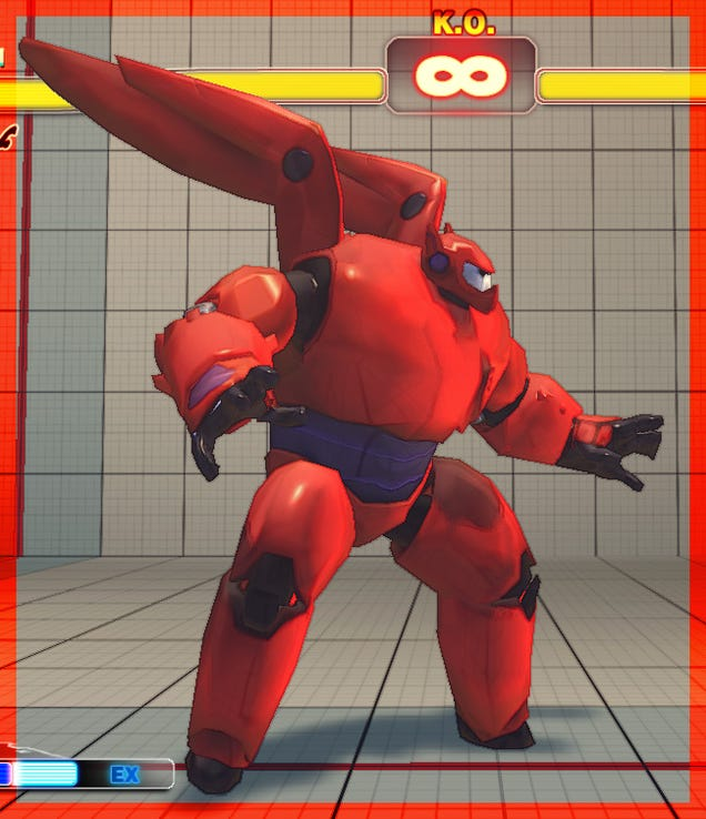 Someone PutBig Hero 6 Characters InStreet Fighter IV