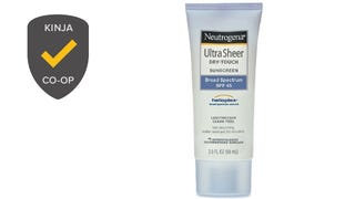 Most Popular Sunscreen: Neutrogena UltraSheer Dry-Touch