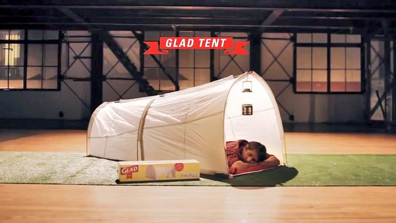 Disposable Trashbag Tents Are the Cleverest Way To Keep Camping Clean